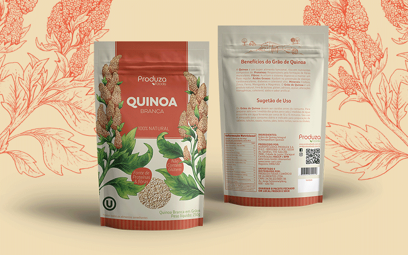 Produza - Quinoa Packaging