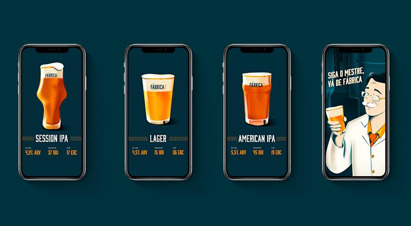 Fábrica 1 Cervejaria - Siga o Mestre