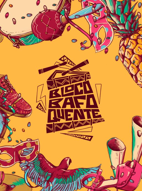 Carnaval Bloco Bafo Quente 2019